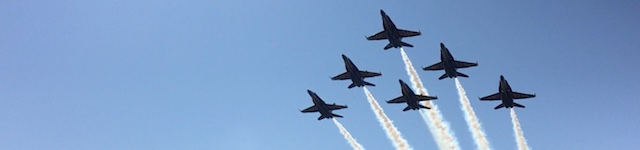 Blues Flyover 2015